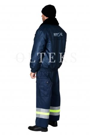 Куртка зимова з хутряним коміром ДП «Міжнародний аеропорт «Бориспіль»