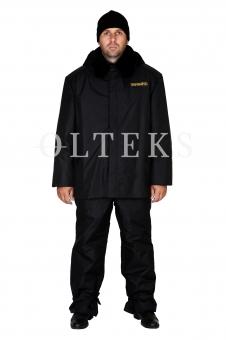 Костюм зимовий: штани та куртка з хутряним коміром