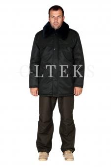 Куртка утеплена з хутряним коміром (НГУ)