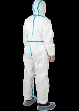 Комбінезон з герметизацією швів одноразовий, 6-й клас захисту